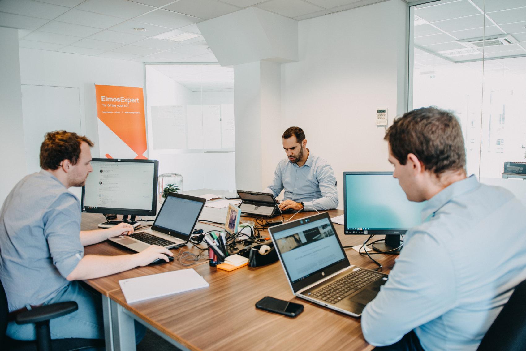 Werken in ICT, de collega's van ElmosExpert