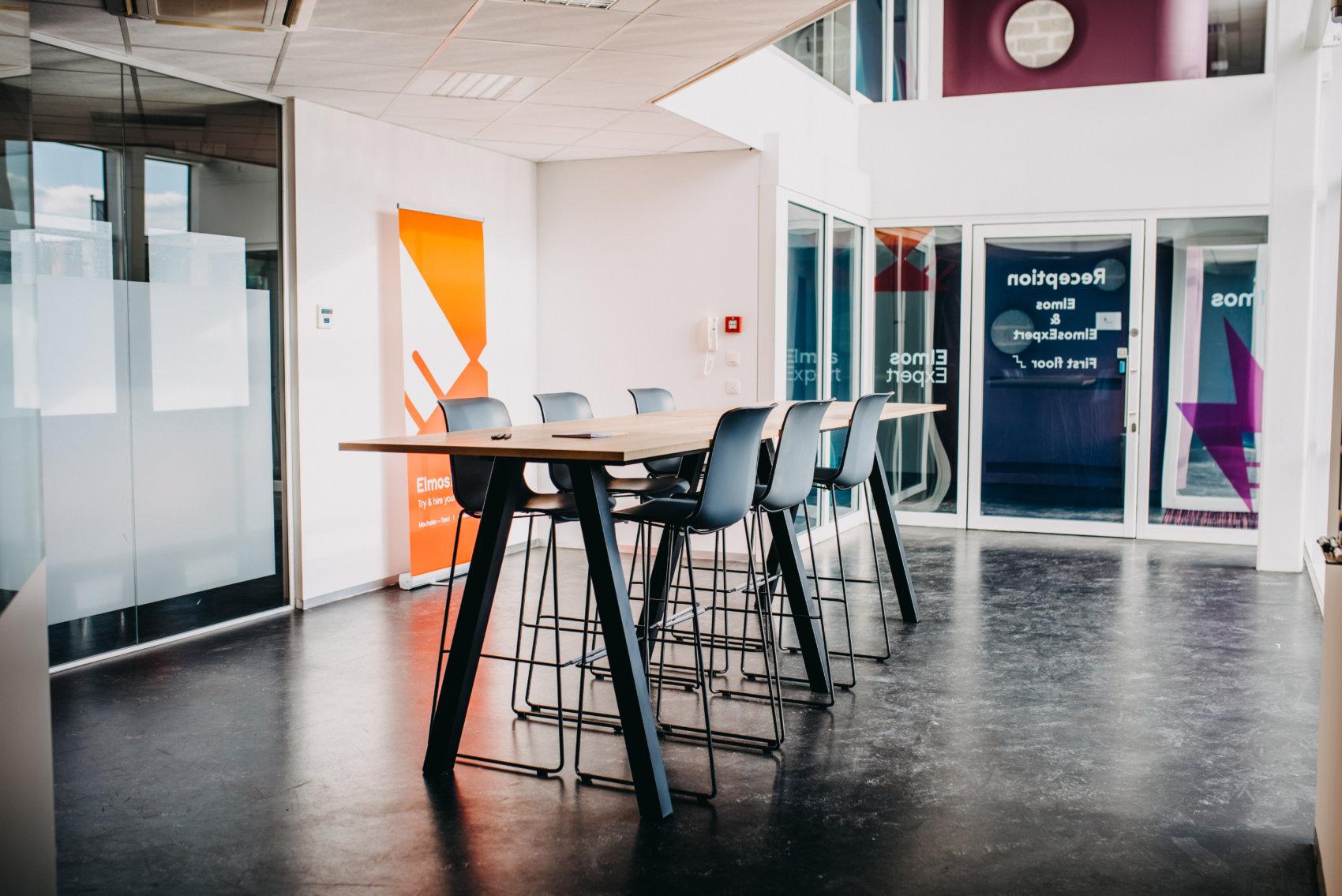 Vergaderzaal ElmosExpert ICT in Mechelen